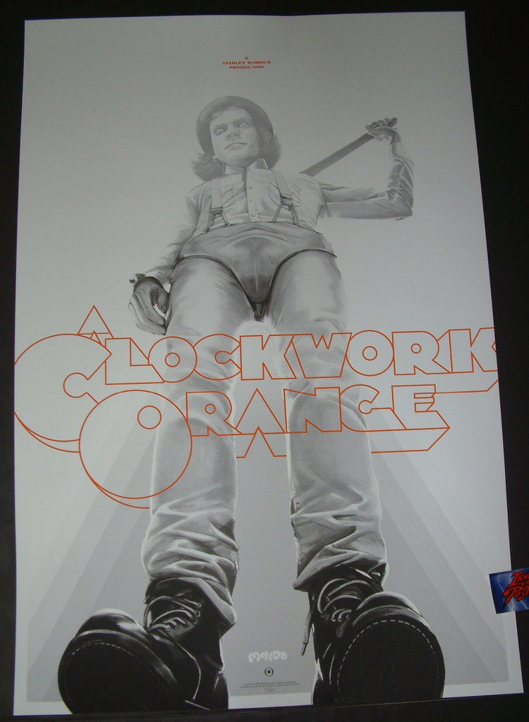 Oliver Barrett A Clockwork Orange Movie Poster Mondo 2019