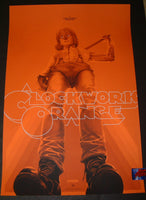 Oliver Barrett A Clockwork Orange Movie Poster Variant Mondo 2019