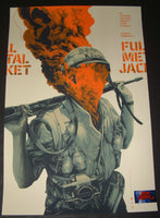 Oliver Barrett Full Metal Jacket Movie Poster Mondo 2019