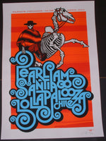 Ames Bros Pearl Jam Poster Lollapalooza Santiago Chile 2013 Artist Edition S/N