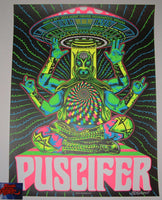 Palehorse Design Puscifer Poster Indianapolis 2016 Artist Edition