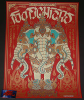 Palehorse Design Foo Fighters Poster Fresno 2017 Artist Edition