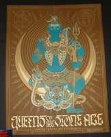 Palehorse Design Queens Of The Stone Age St Petersburg Poster 2018 Artist Edition