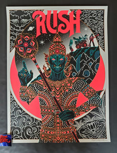 Palehorse Design Rush 2112 The Temple of Syrinx Poster 2020