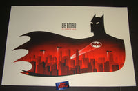 Phantom City Creative Batman The Animated Series Poster 2018 Mondo