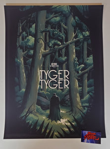 Phantom City Creative Batman Tyger Tyger Poster Variant Mondo 2020