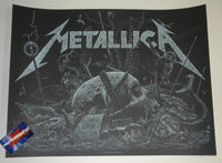Phillip Janta Island Metallica Berlin Germany Poster 2019