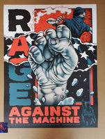 Pitchgrim Rage Against The Machine Battle of Los Angeles Poster BOLA 2019