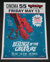 Morning Breath Revenge of the Creature Movie Poster Signed AP Mondo 2013