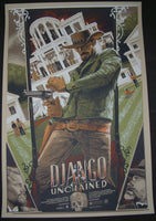 Rich Kelly Django Unchained Movie Poster Mondo 2013