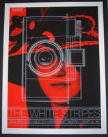 Rob Jones The White Stripes Poster Seattle Meg 2007 Artist Edition S/N