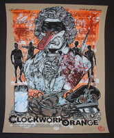 Rhys Cooper A Clockwork Orange Movie Poster 2011 Artist Edition