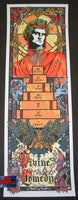 Rhys Cooper The Divine Comedy Poster 2011 Artist Edition