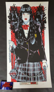 Rhys Cooper Gogo Yubari Kill Bill Movie Print Artist Edition 2011
