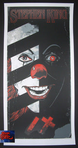 Rhys Cooper IT Movie Poster 2017 Stephen King Pennywise Clown