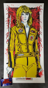 Rhys Cooper The Bride Kill Bill Movie Print Artist Edition 2011