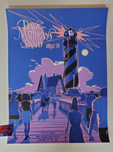 Rich Kelly Dave Matthews Band Charlotte Poster Drive In 2020