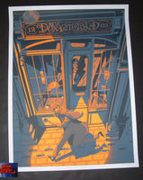 Rich Kelly Dave Matthews Band London Poster Artist Edition 2019