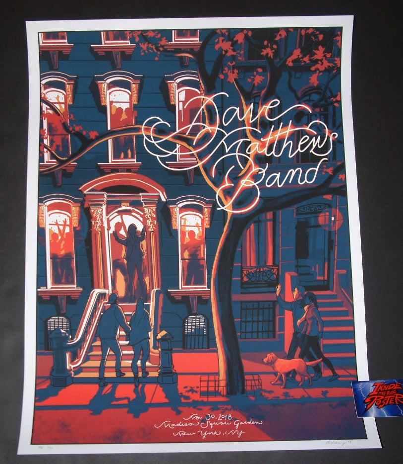 Rich Kelly Dave Matthews Band New York Poster Artist Edition 2018