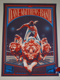 Rich Kelly Dave Matthews Band Saratoga Springs Poster Artist Edition 2019