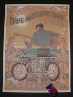Rich Kelly Dave Matthews Band Poster Wantagh Jones Beach 2015 Artist Edition