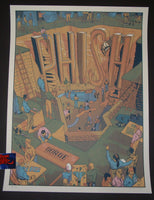 Rich Kelly Phish Poster Gorge George 2016 Artist Edition