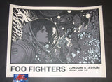 Richey Beckett Foo Fighters London Poster Artist Edition 2018