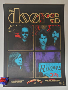 Richey Beckett The Doors 50th Anniversary Morrison Hotel Poster 2020