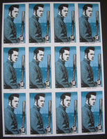 Rob Jones Jack White Fenway Park Boston Poster Handbill Uncut Sheet 2014 Doodled