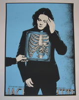 Rob Jones Jack White Poster Lubbock 2014 Tour