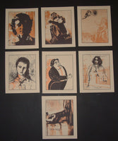 Rob Jones Oscar Wilde Lifecycle Art Print Set 2009 Signed