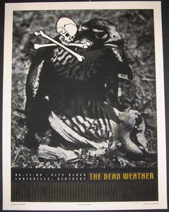 Rob Jones The Dead Weather Louisville Poster S/N