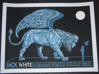 Todd Slater Rob Jones Jack White Poster European Tour 2012 Artist Edition S/N