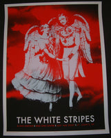 Rob Jones The White Stripes Poster St. John's Canada 2007 Artist Edition S/N