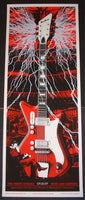 Rob Jones The White Stripes Wallingford Poster S/N
