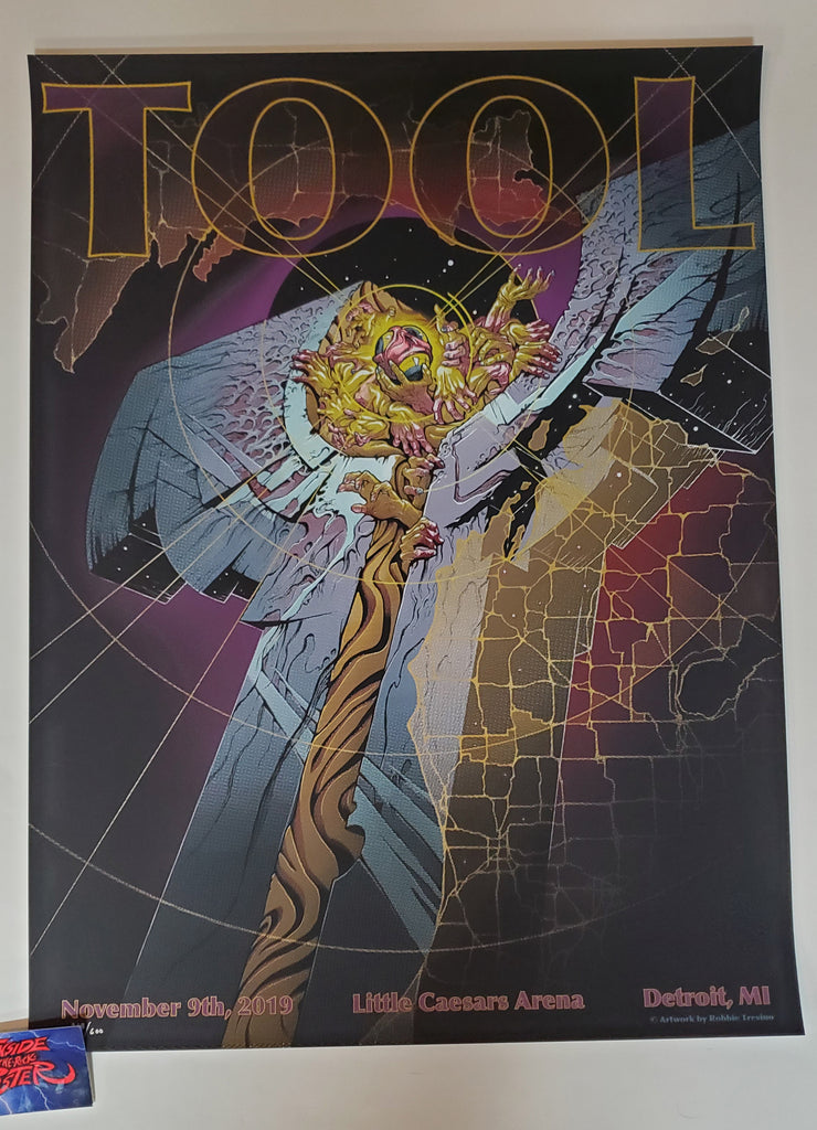 Robbie Trevino Tool Detroit Poster 2019