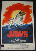Robert Tanenbaum Jaws Movie Poster Red Variant 2017