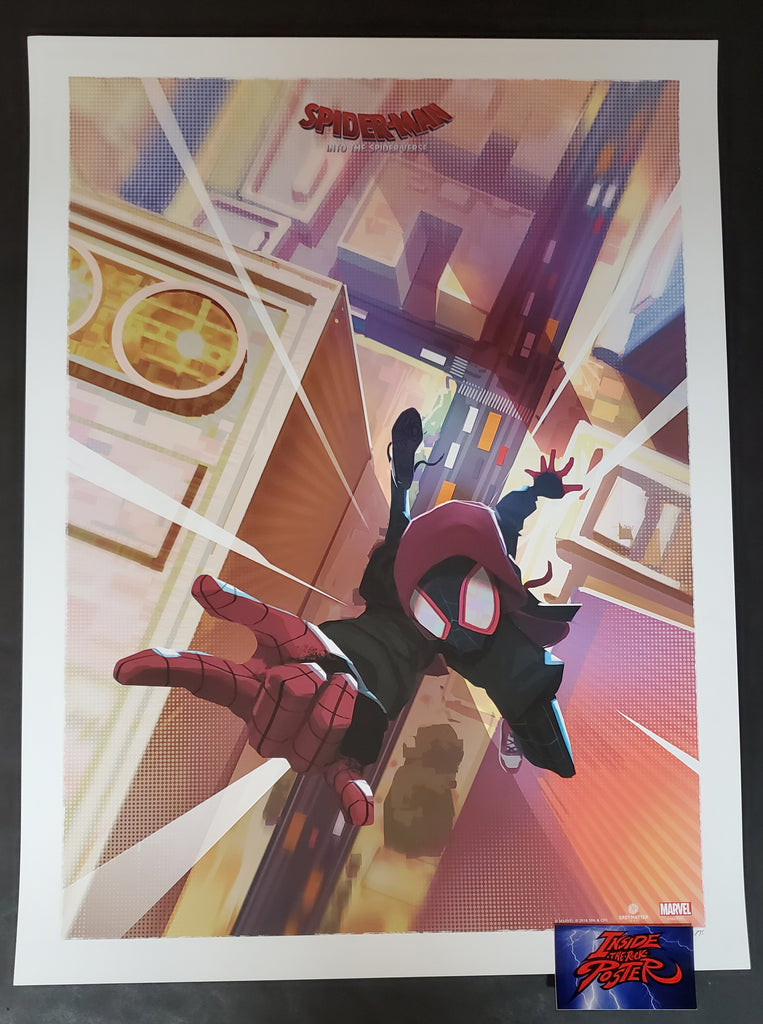 Robin Har Miles Spider-Man Into the Spider-Verse Poster 2019
