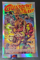 Rockin Jelly Bean Guardians of the Galaxy Movie Poster Foil Variant 2018