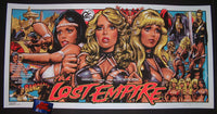 Rockin Jelly Bean The Lost Empire Movie Poster Mondo 2015 Artist Edition