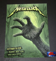 Ron Ransom Metallica Albany Poster Artist Edition 2018
