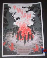 Rosemary Valero-O'Connell Phish Cuyahoga Falls Poster Artist Edition 2019