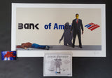 Ryan McCann Death to Banksy Art Print COA 2011
