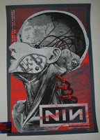 SNKHDS Nine Inch Nails Poster Mexico City Artist Edition 2018