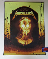 Sam Wolfe Connelly Metallica Cincinnati Poster VIP Artist Edition 2019
