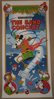Serban Cristescu The Band Concert Poster Disney Mickey Mouse 2012 S/N