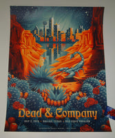 Shawn Ryan Dead & Company Dallas Poster Artist Edition 2019