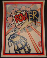 Shepard Fairey POW(ER) Power Poster S/N 2010
