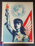 Shepard Fairey Angel of Hope and Strength Art Print 2020