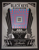 Shepard Fairey Black Keys Los Angeles 2014 Artist Edition